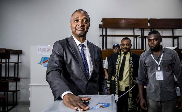 Imágenes de la jornada electoral en RD Congo