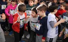 Nervios y emoción en la XXIX San Silvestre Cidiana infantil