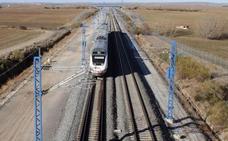 Adif licita el mantenimiento de la línea de alta velocidad Venta de Baños-Burgos