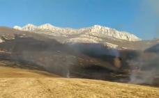 Lunada recibió el 2019 con un incendio forestal, que se mantuvo activo desde Nochevieja pero que ya está extinguido