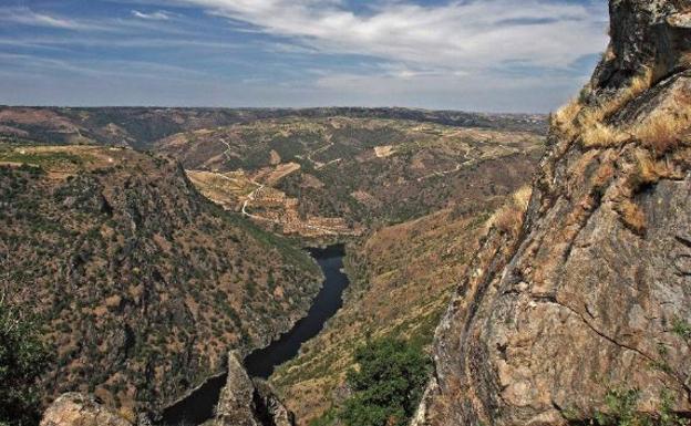 Parque Natural de Arribes del Duero, paraje fascinante entre ...