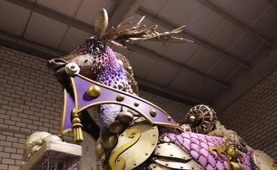 Fantasía e innovación en las carrozas de la Cabalgata de Reyes