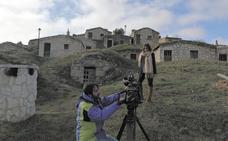 'España Directo' visita Moradillo de Roa para informar sobre la restauración del barrio de bodegas