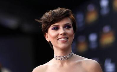 La actriz Scarlett Johansson, estrella del porno a su pesar