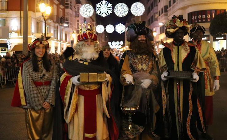 La Cabalgata de Reyes de Burgos, en imágenes