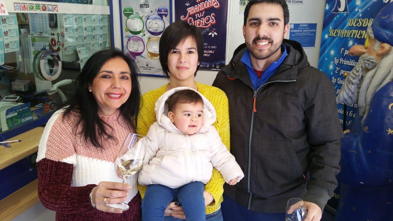 El Niño ha sonreído a Miranda con 750.000 euros del Segundo Premio