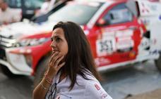 Cristina Gutiérrez afronta con muchas ganas la salida del Dakar