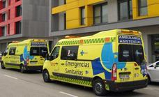 Atropello sin consecuencias graves a un ciclista en la plaza de Bilbao