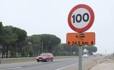 400 kilómetros de carreteras en Burgos pasarán a 90 km/h el próximo 29 de enero