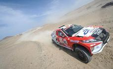 La burgalesa Cristina Gutiérrez consigue su mejor resultado en una etapa del Dakar