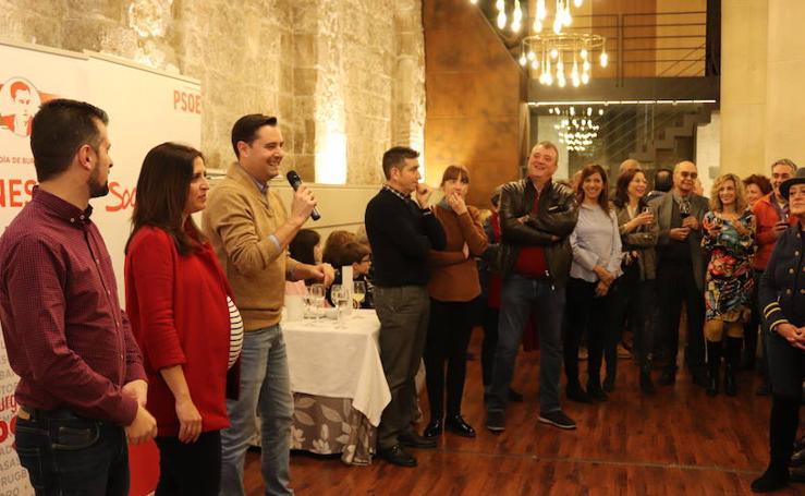 Vino de Año Nuevo del PSOE en Burgos