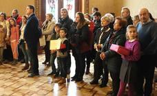 Entrega de los donativos del Belén de la Catedral y de premios