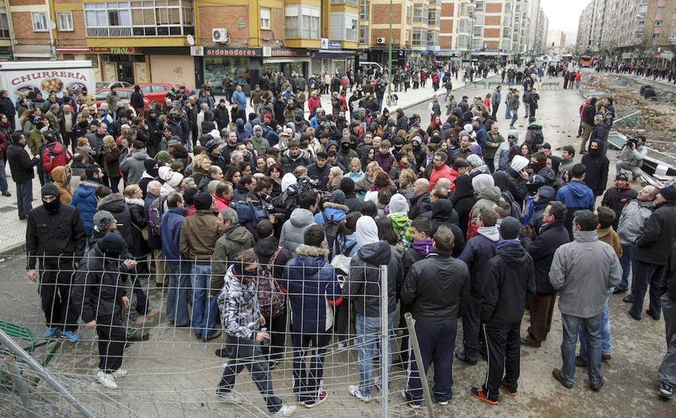 Imagen de una concentración en la 'zona cero'/Ricardo Ordóñez/ICAL