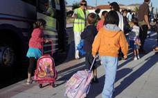La Junta deja sin transporte escolar a 19 alumnos burgaleses a mitad de curso