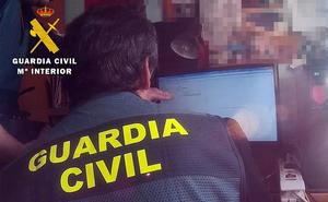 Una operación de la Guardia Civil de Burgos permite detener a un hombre con pornografía infantil