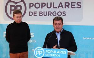 Rico reclama a Pedro Sánchez el desbloqueo de los proyectos del Tren Directo, la A-73 y Garoña