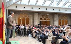 Vox demuestra músculo en Burgos a pesar de las protestas