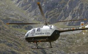 La Guardia Civil rescata a un montañero burgalés herido en el pico Gilbo en Riaño