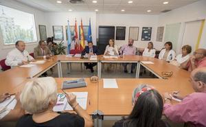 PCAS propone la creación de un grupo de trabajo para impulsar el nuevo hospital de Aranda
