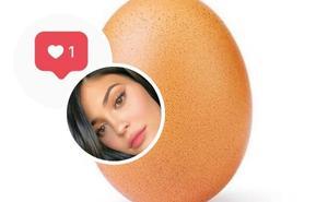 Un huevo, nuevo rey de Instagram