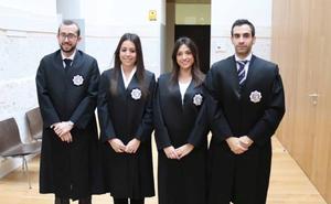 Cuatro nuevos jueces toman posesión de sus plazas en Castilla y León