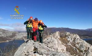 Rescatado un montañero burgalés herido en el pico Gilbo
