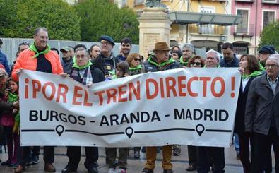 Los socialistas burgaleses exigirán a Sánchez una partida presupuestaria para el Tren Directo