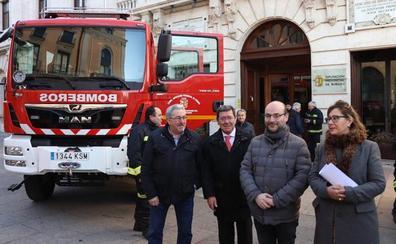 Oña y Briviesca estrenan camiones de bomberos