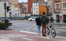 Dos de cada tres atropellos en Burgos se producen en pasos de peatones