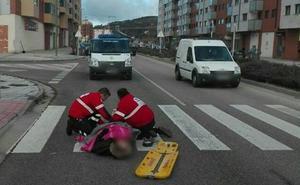 Herido un hombre de 42 años tras ser atropellado en Esteban Sáez Alvarado