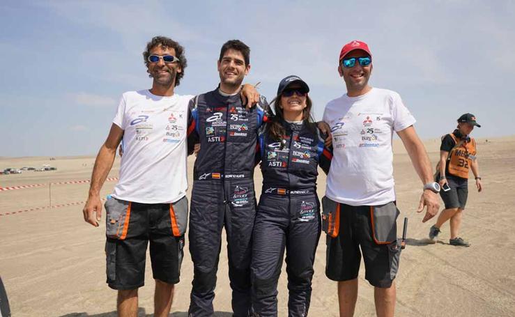 Las mejores imágenes del paso de Cristina Gutiérrez por el Dakar 2019