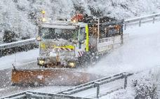 Avisos por nevadas en zonas de montaña de León y Zamora