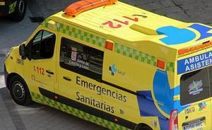 Herido muy grave un hombre de 66 años al ser atropellado por una furgoneta en Alcalde Martín Cobos