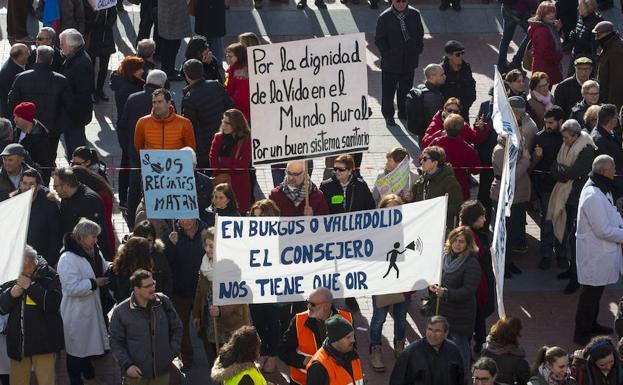 Imagen de la manifestación del pasado año en Valladolid/BC