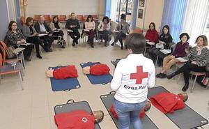 La Asociación de Periodistas de Burgos se suma al reto Objetivo RCP para salvar el mayor número de vidas posibles