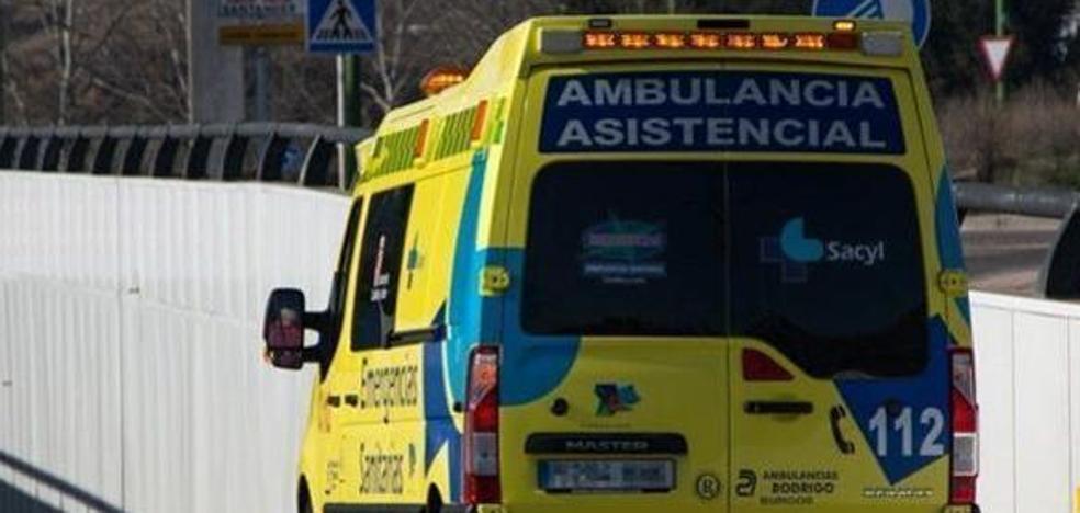 Herida leve en una colisión en la Glorieta de Bilbao