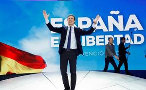 Casado advierte a los votantes defraudados de los riesgos de no volver al PP