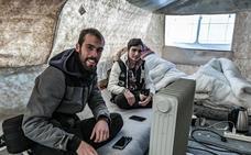 El fotoperiodista burgalés Diego Herrera muestra la realidad de los refugiados en Europa