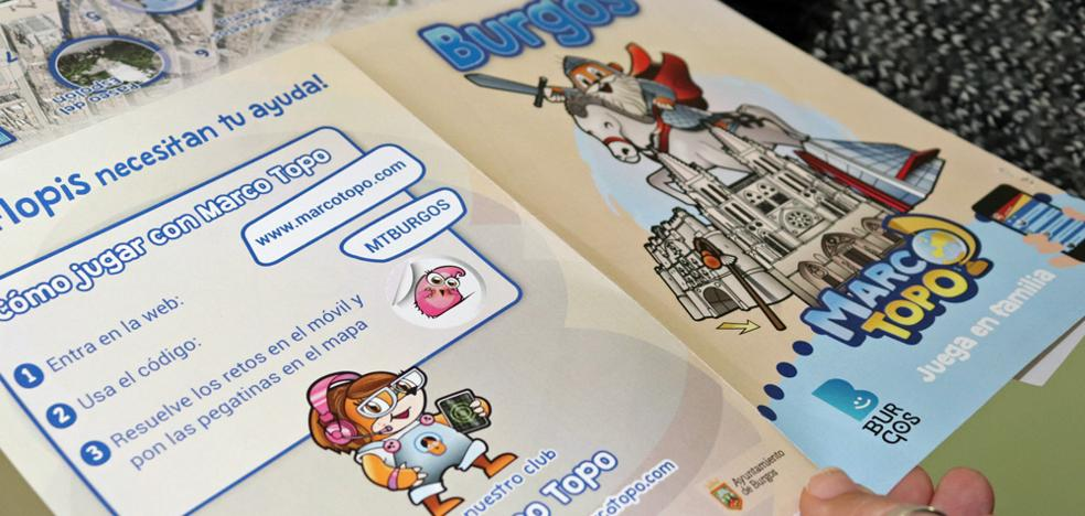 Un juego de pistas con Marco Topo para vender Burgos en Fitur como destino de turismo familiar