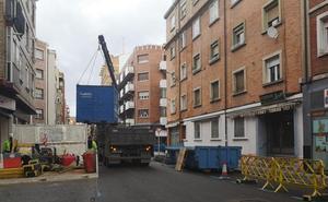 Miranda invierte 186.000 euros en la renovación de una de sus calles principales