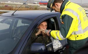 Dos positivos por alcoholemia en las carreteras de Burgos durante el fin de semana