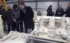 La restauración del trasaltar de la Catedral de Burgos se complementará con un proyecto cultural