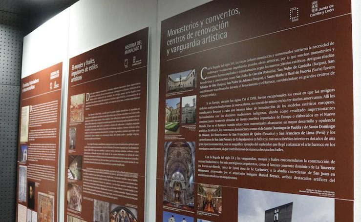 La exposición 'Historia del monacato II', en imágenes