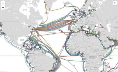 Así se conectan en red el mundo