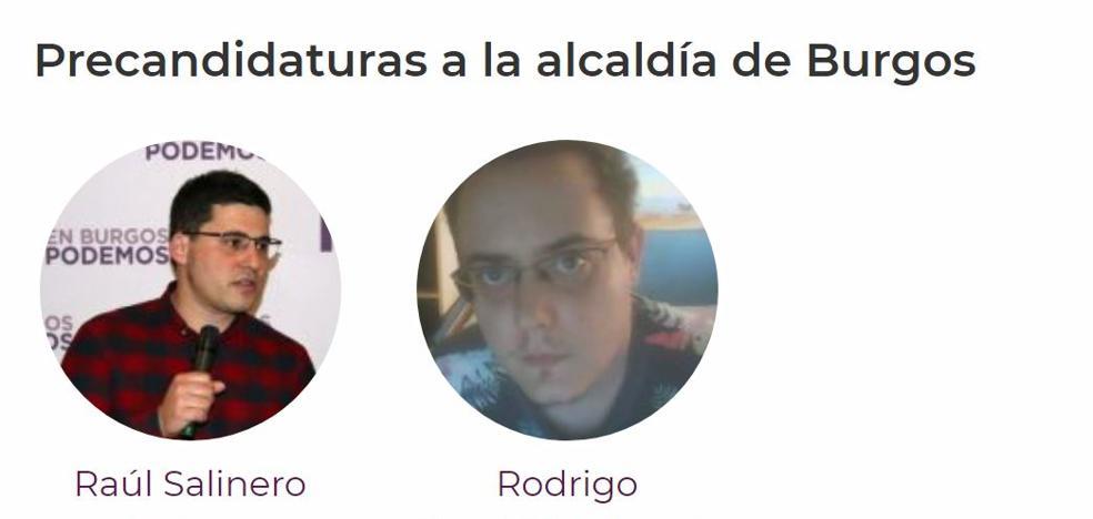 Podemos tendrá que elegir entre Raúl Salinero y Rodrigo Santidrián su cabeza de lista en Burgos