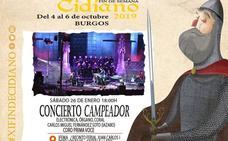 El concierto 'Campeador' promociona el X Fin de Semana Cidiano en Fitur
