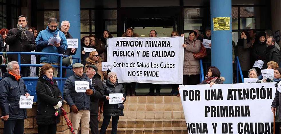 El «hartazgo» de Los Cubos se extiende al resto de centros de salud, que acumulan bajas, libranzas y vacaciones sin cubrir