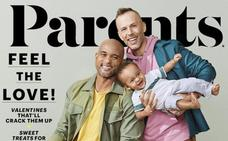 Una familia gay, en portada