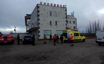 Muere una mujer en el incendio en un club de alterne de Salamanca