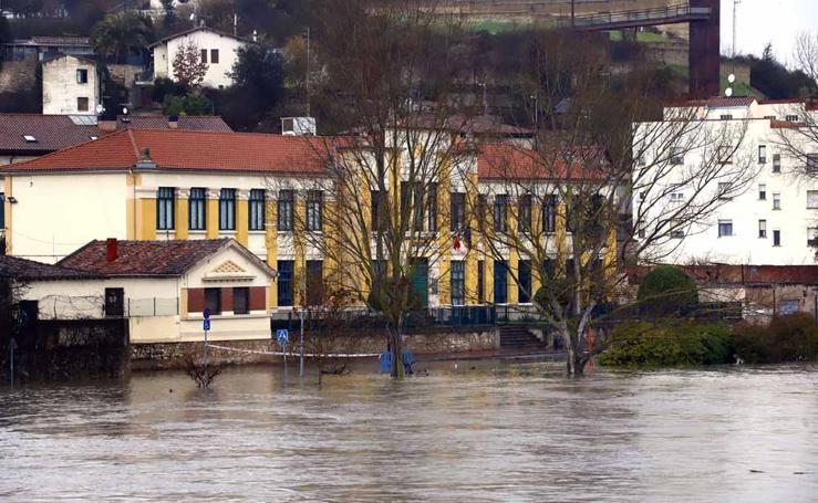 Las inundaciones en Burgos, en imágenes